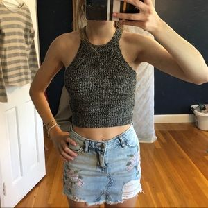 NEW Forever 21 sweater crop top